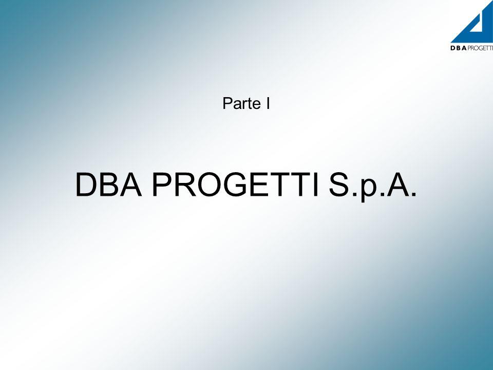 DBA PROGETTI S.p.A. Parte I