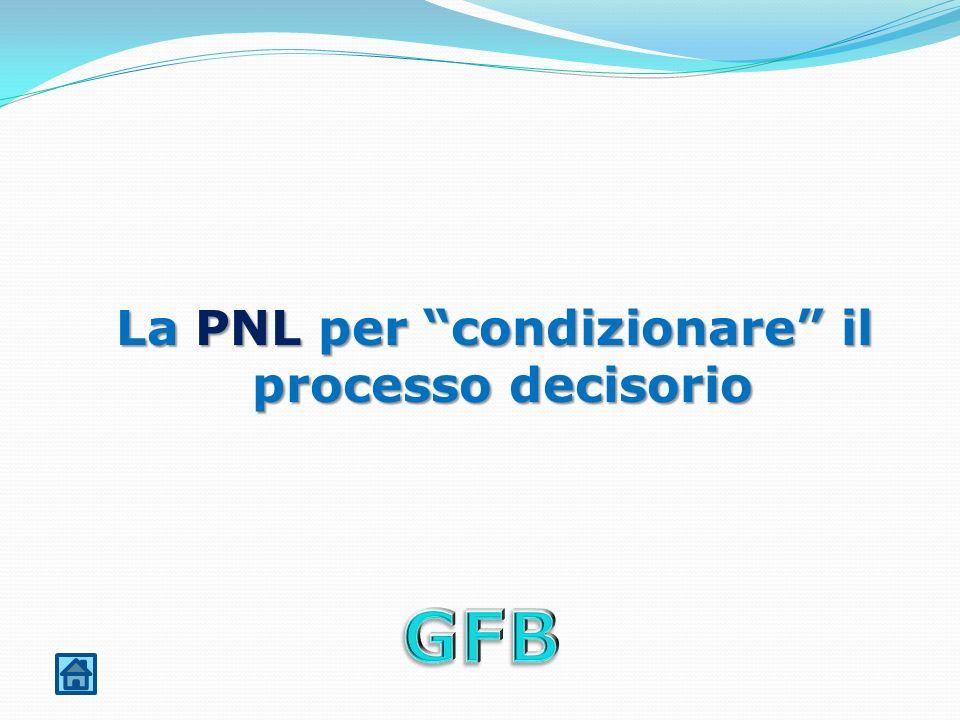 La PNL per condizionare il processo decisorio