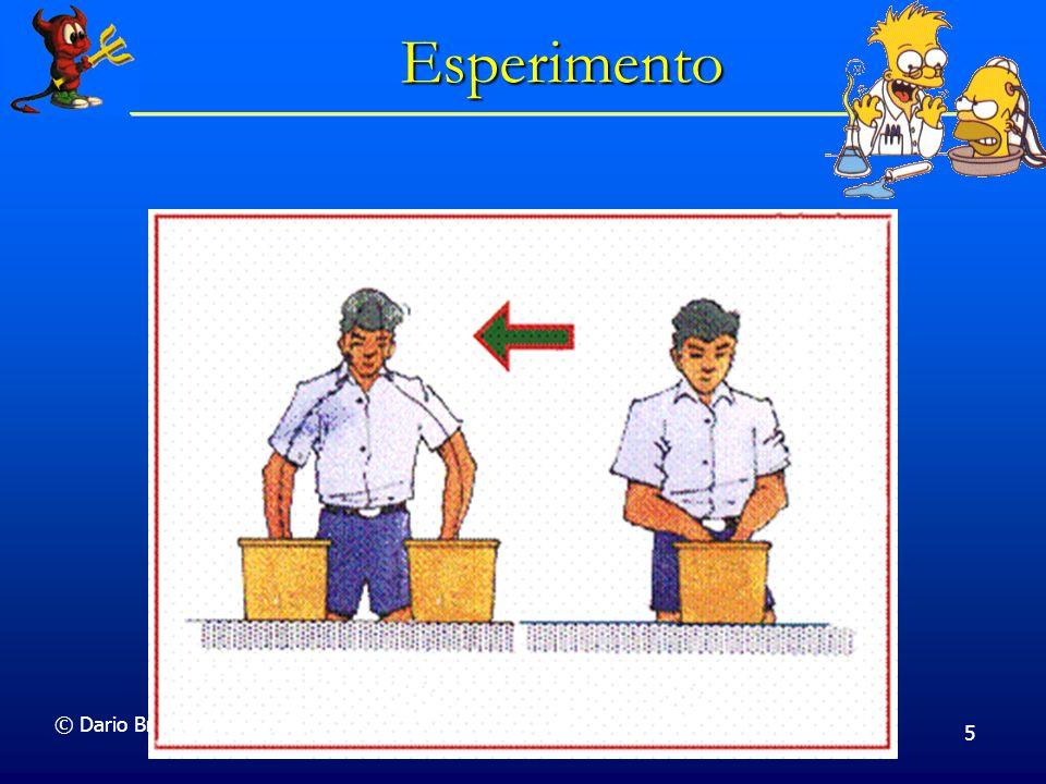 © Dario Bressanini 5 Esperimento
