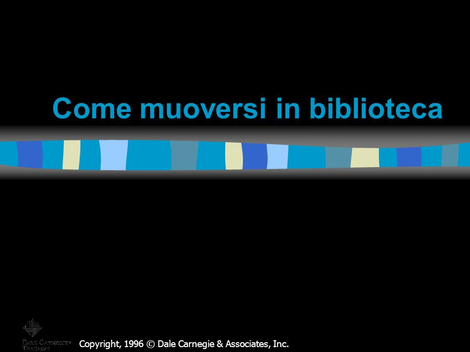 Perché un bibliotecario.