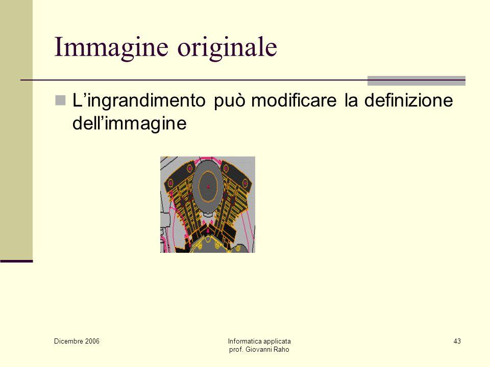 Dicembre 2006 Informatica applicata prof.