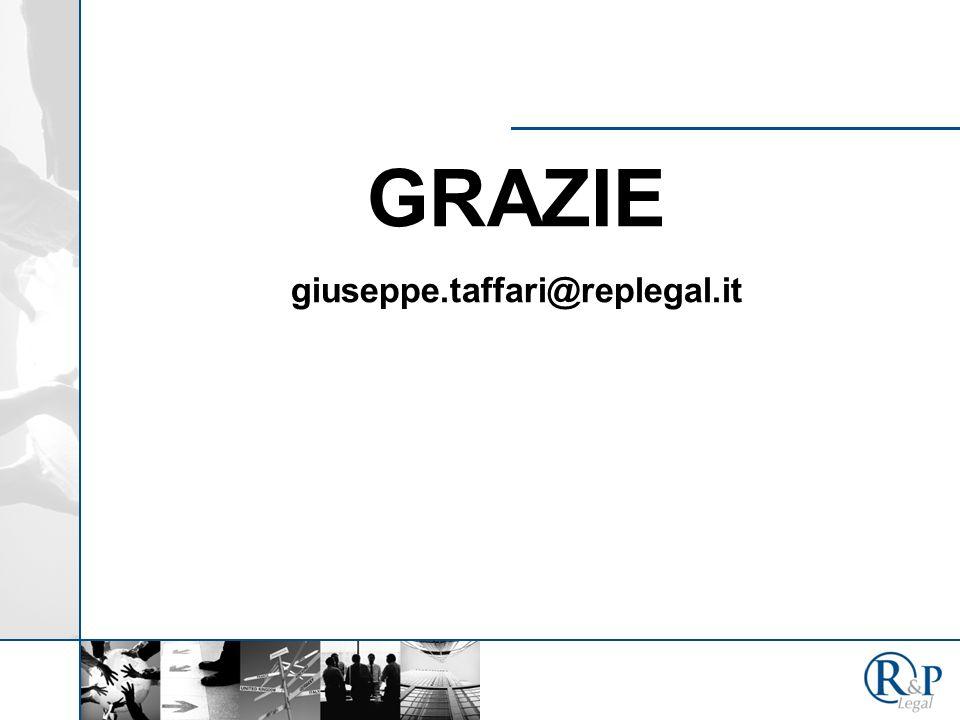 GRAZIE giuseppe.taffari@replegal.it