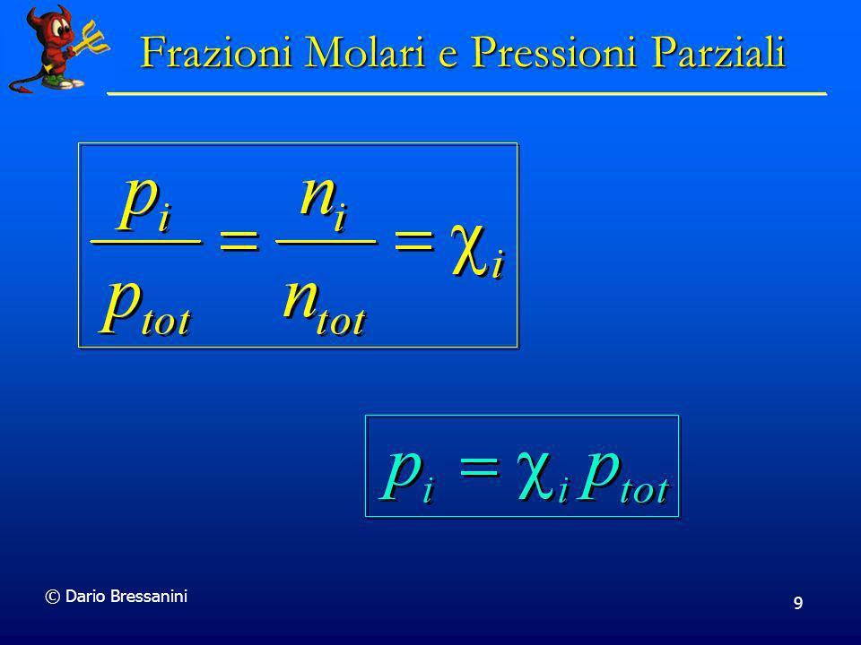 9 Frazioni Molari e Pressioni Parziali