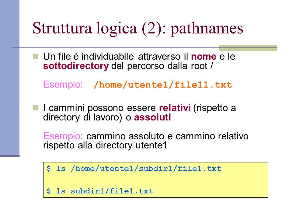 File di tipo device Caratteristiche dei file device In Linux ogni entità è rappresentata sotto forma di file, comprese le periferiche (device) collegate al computer.
