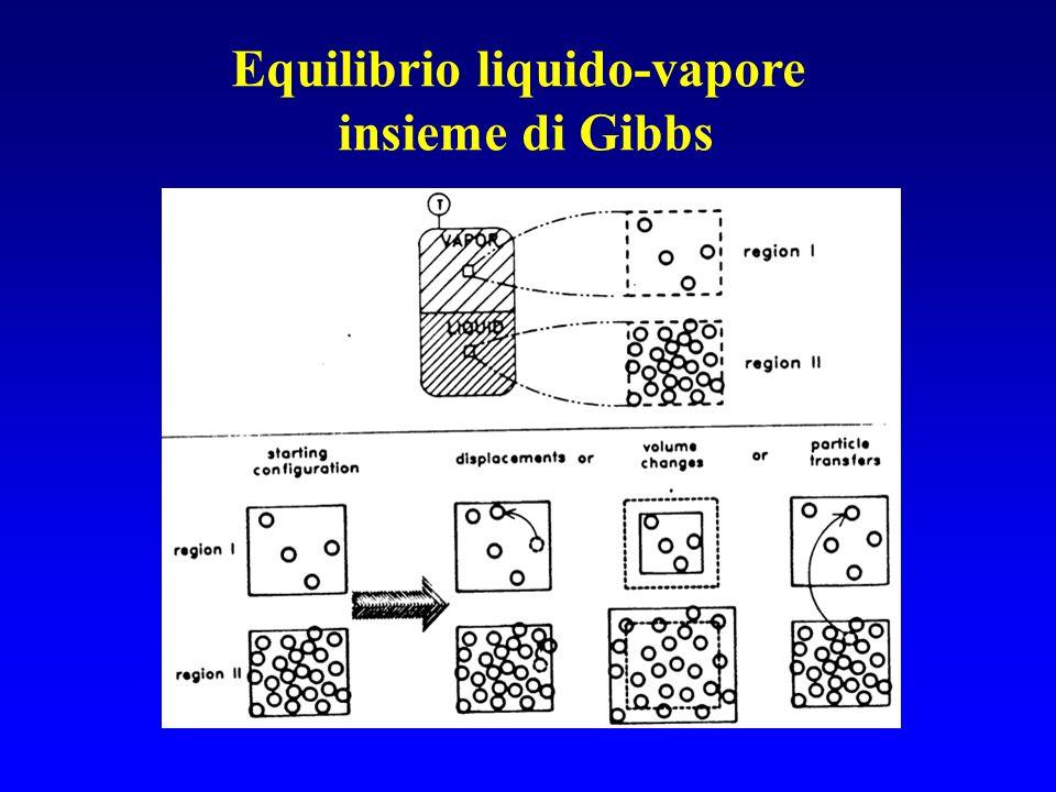 Equilibrio liquido-vapore insieme di Gibbs