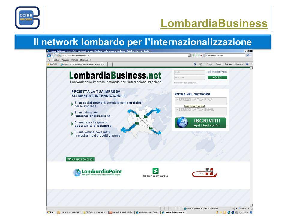 LombardiaBusiness Il network lombardo per linternazionalizzazione