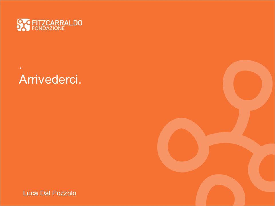 . Arrivederci. Luca Dal Pozzolo