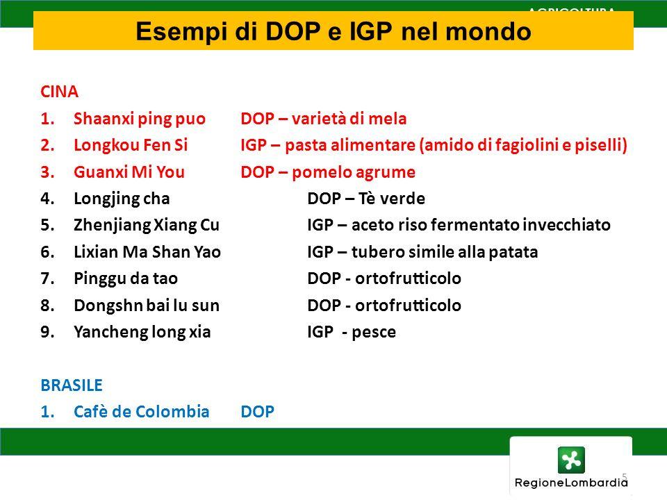 Il prodotto DOP è fortemente radicato sul territorio di origine e quindi porta con se i valori legati alla sua zona di produzione.