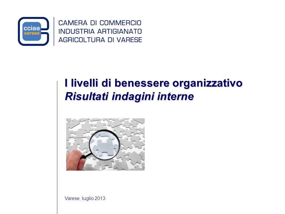 I livelli di benessere organizzativo sono stati rilevati attraverso due tipologie di indagine Benessere organizzativo: gli strumenti 1.