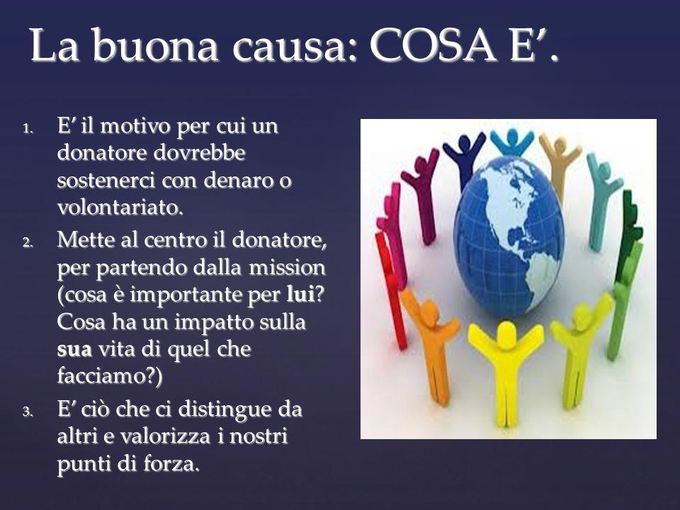 La buona causa: COSA E. 1.