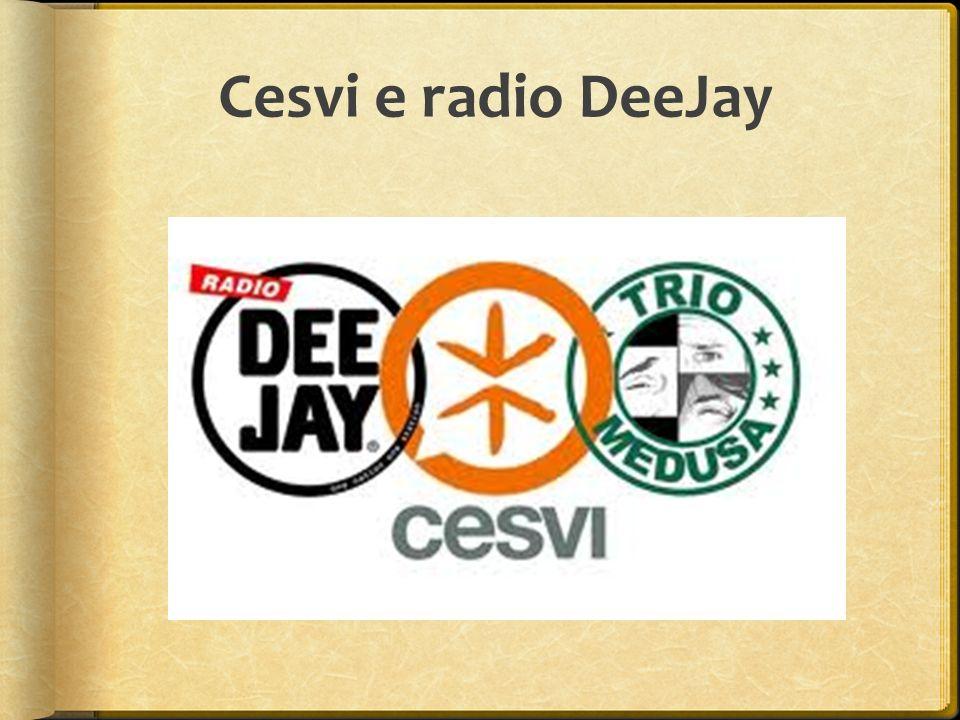 Cesvi e radio DeeJay
