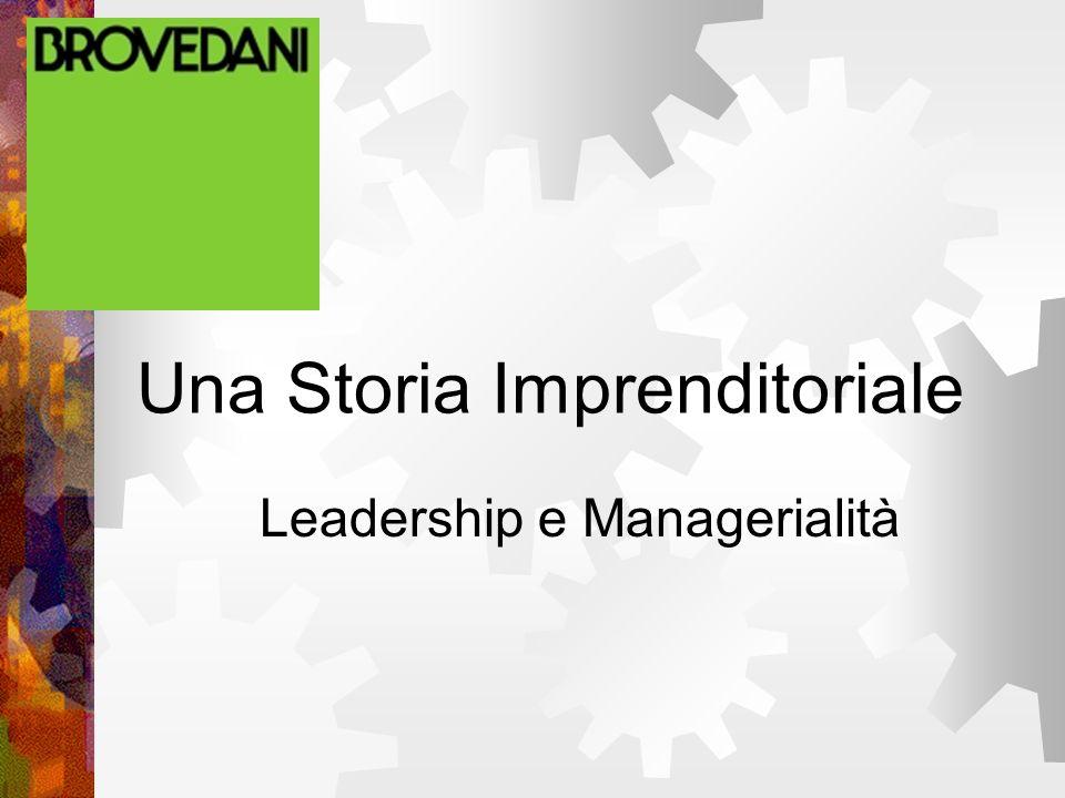 Leadership e Managerialità Una Storia Imprenditoriale