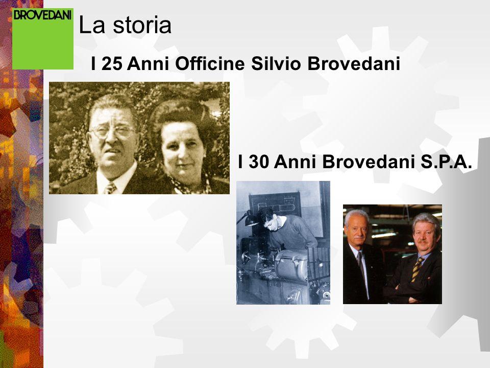 La storia I 30 Anni Brovedani S.P.A. I 25 Anni Officine Silvio Brovedani