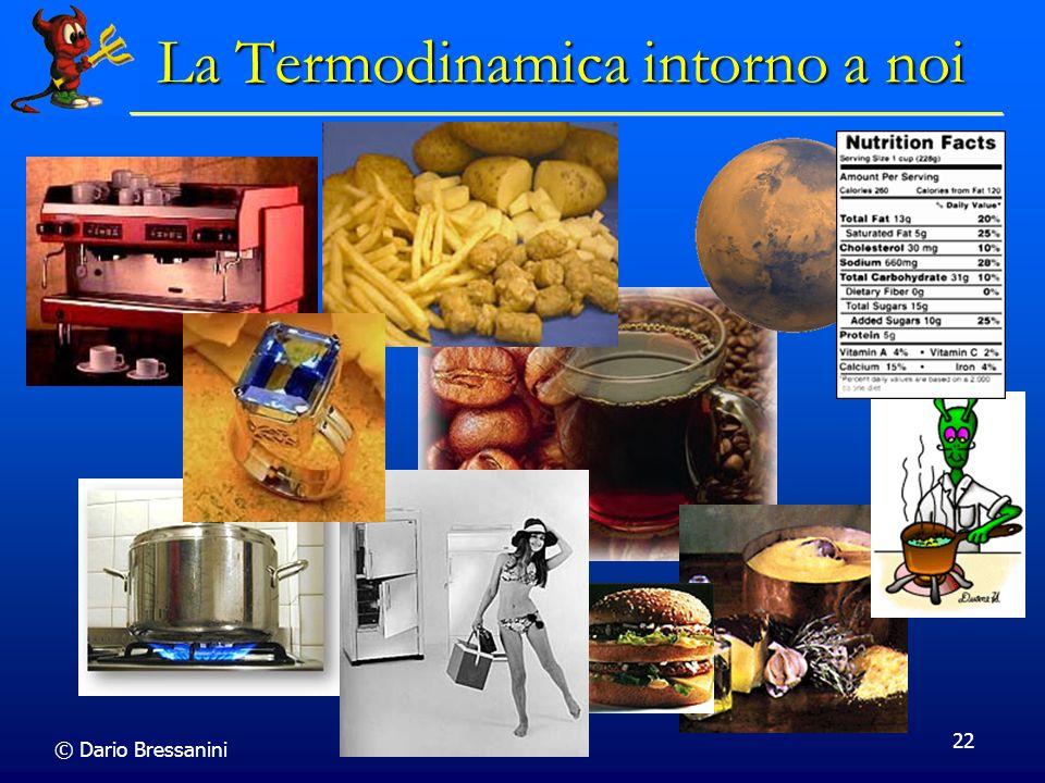 © Dario Bressanini 22 La Termodinamica intorno a noi