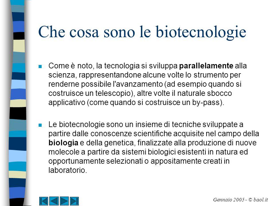 Breve storia delle biotecnologie n Le biotecnologie sono state utilizzate dall uomo sin dall antichità.