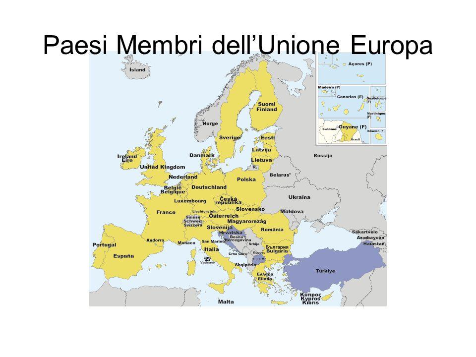 Paesi Membri dellUnione Europa