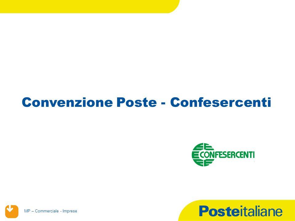 02/02/2014 MP – Commerciale - Imprese Convenzione Poste - Confesercenti