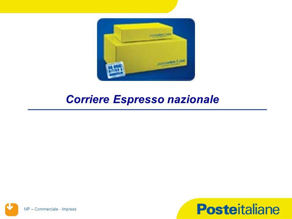 02/02/2014 MP – Commerciale - Imprese Corriere Espresso nazionale