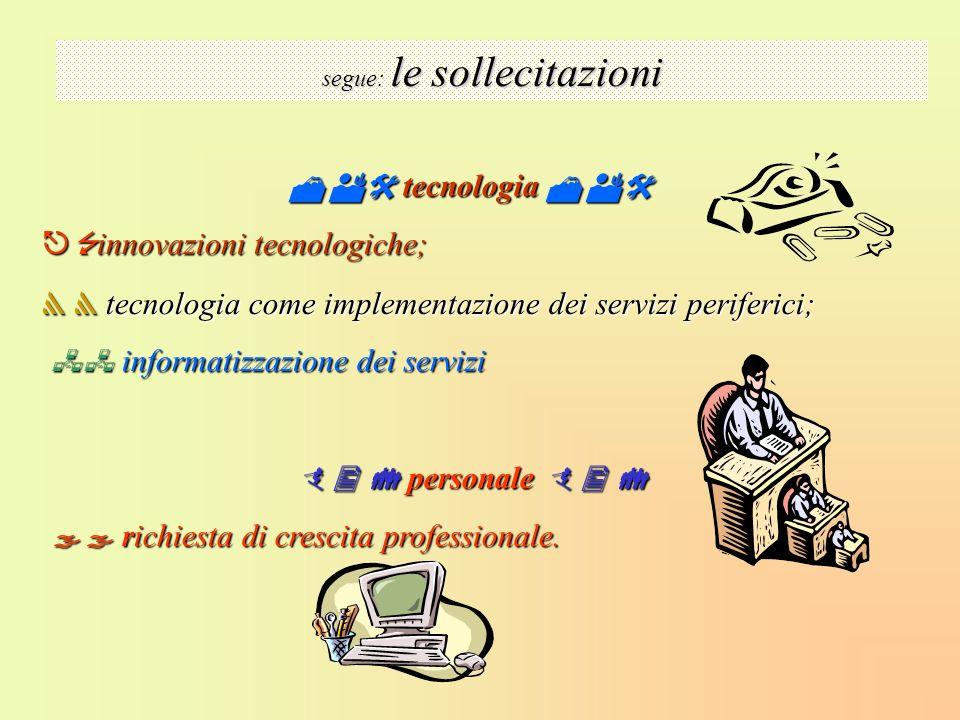 tecnologia tecnologia innovazioni tecnologiche; innovazioni tecnologiche; tecnologia come implementazione dei servizi periferici; tecnologia come impl