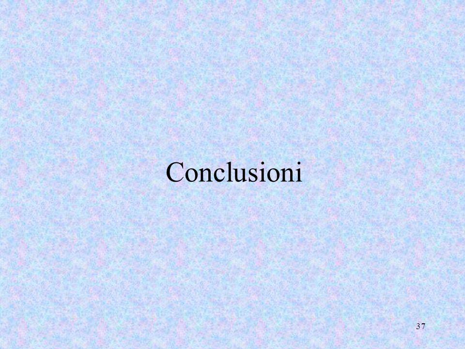 Conclusioni 37