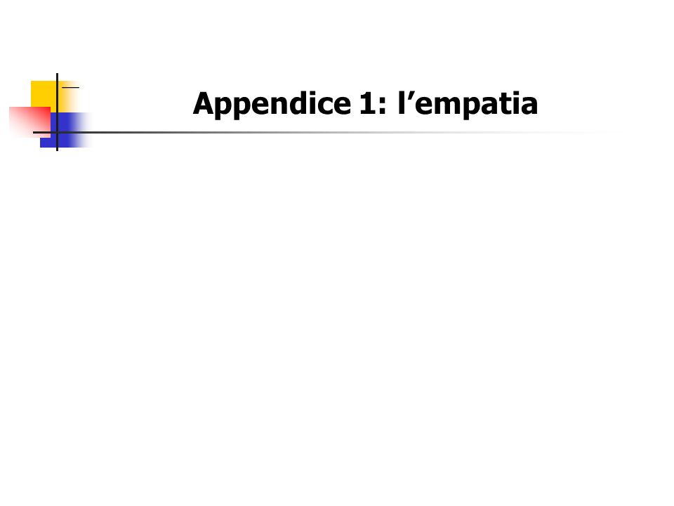 Appendice 1: lempatia