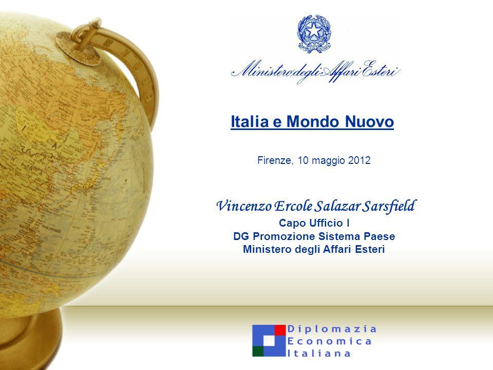 12 Italia e Mondo Nuovo – Liquid.LAB – 10 maggio 2012 Gli scambi commerciali italiani con i BRICS e i TIMBI – esportazioni 2/2 Crescita dellexport italiano 2003/2011: 42% Crescita dellexport italiano 2003/2011 verso i BRICS-TIMBI: 136%