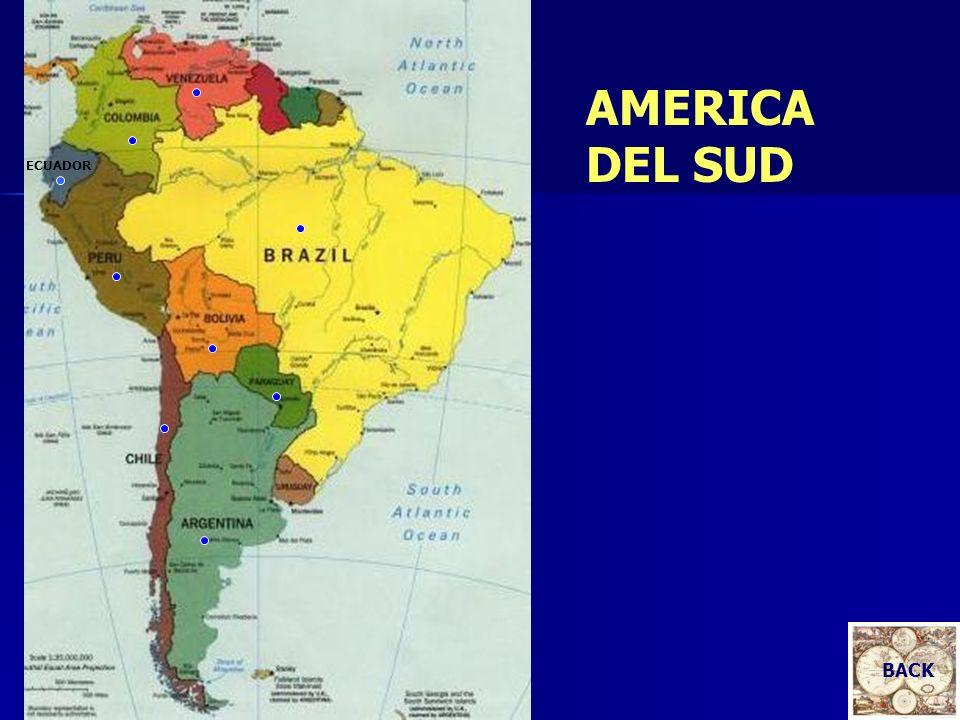 ECUADOR AMERICA DEL SUD BACK