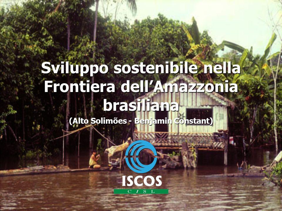 Sviluppo sostenibile nella Frontiera dellAmazzonia brasiliana (Alto Solimões - Benjamin Constant)