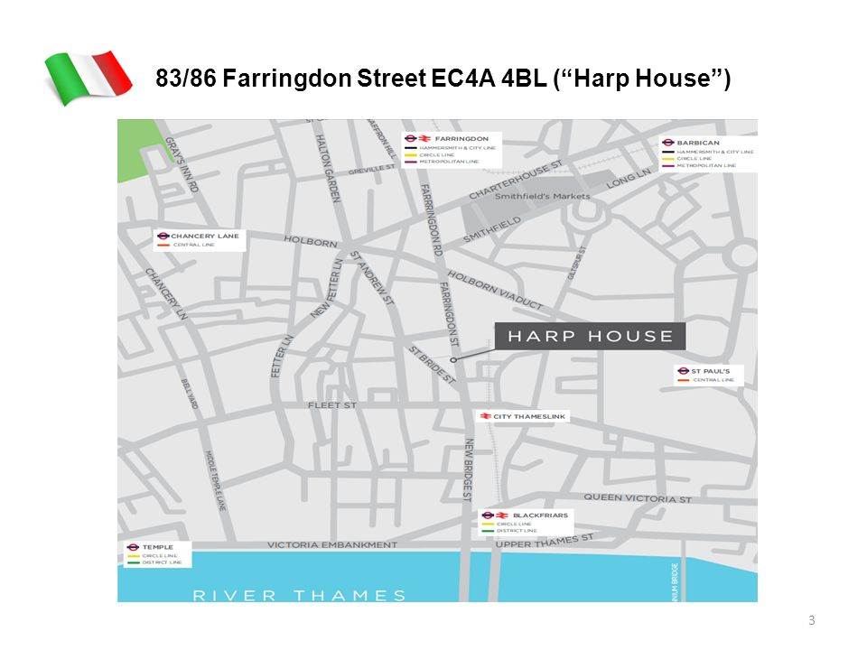 83/86 Farringdon Street EC4A 4BL (Harp House) 3
