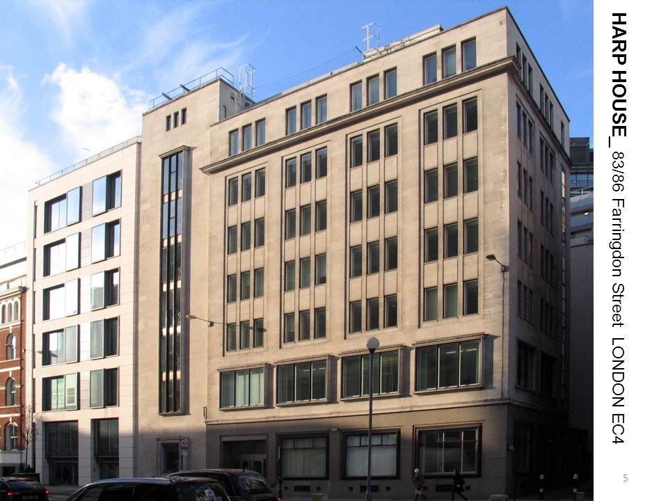 HARP HOUSE_ 83/86 Farringdon Street LONDON EC4 5