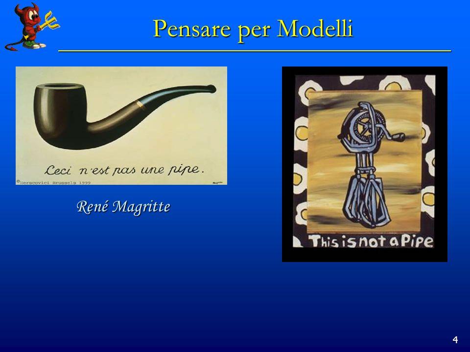 4 Pensare per Modelli René Magritte