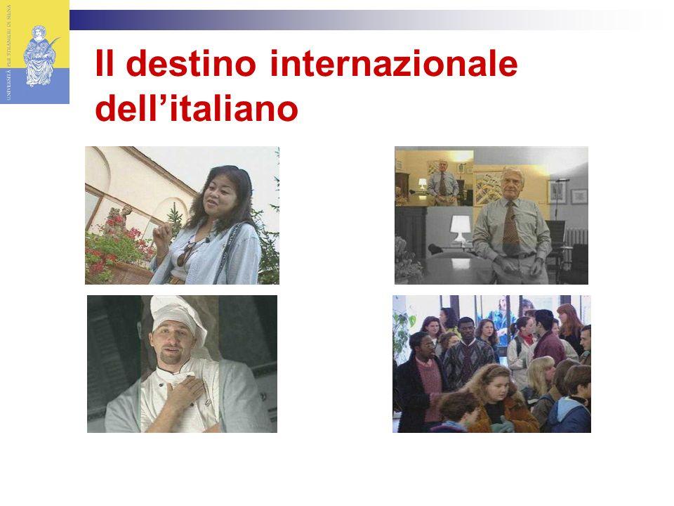 Il destino internazionale dellitaliano