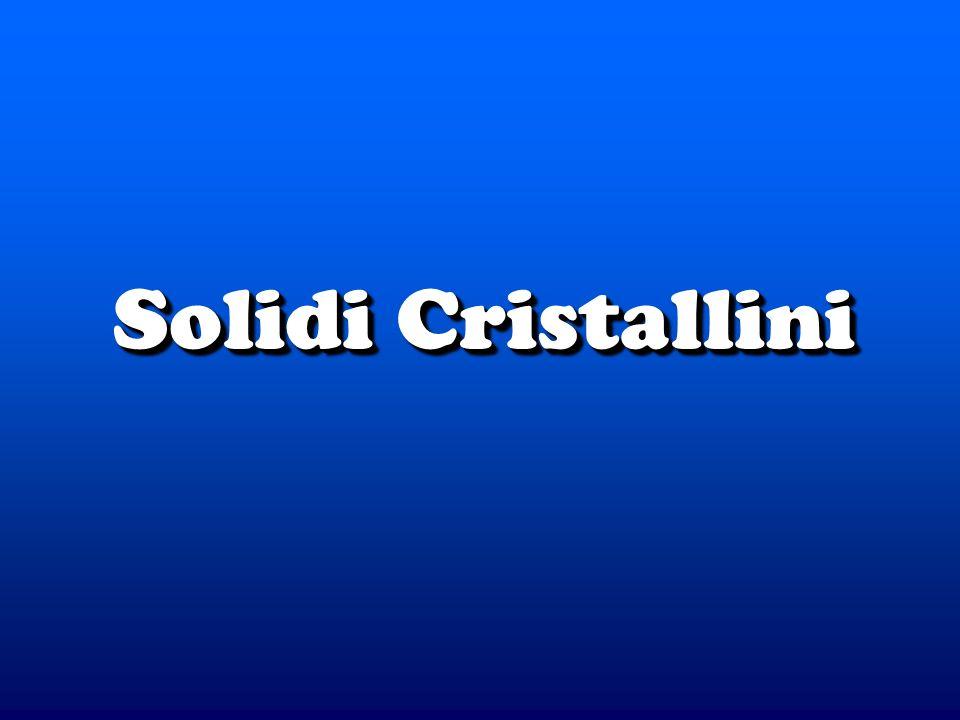 Solidi Cristallini