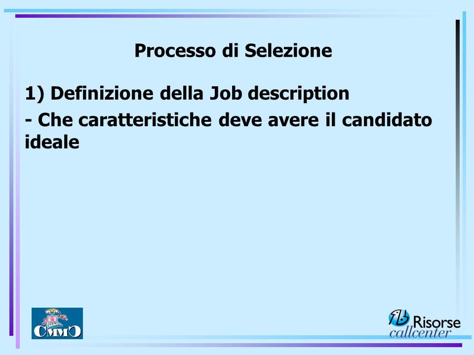 Presentazione dei profili con report di aspetti positivi e negativi di ogni candidato FASE 7: RESTITUZIONE
