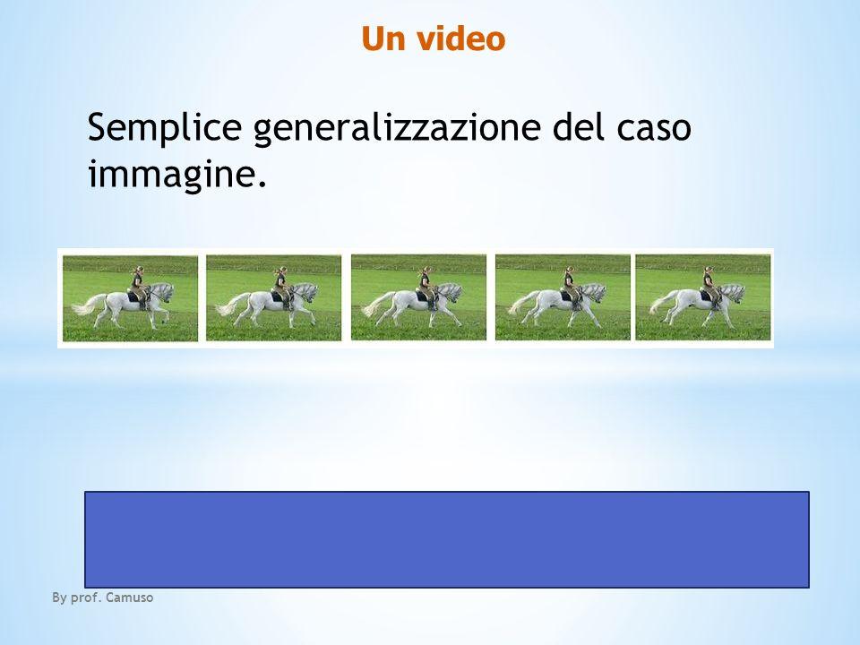 Un video By prof. Camuso Semplice generalizzazione del caso immagine.