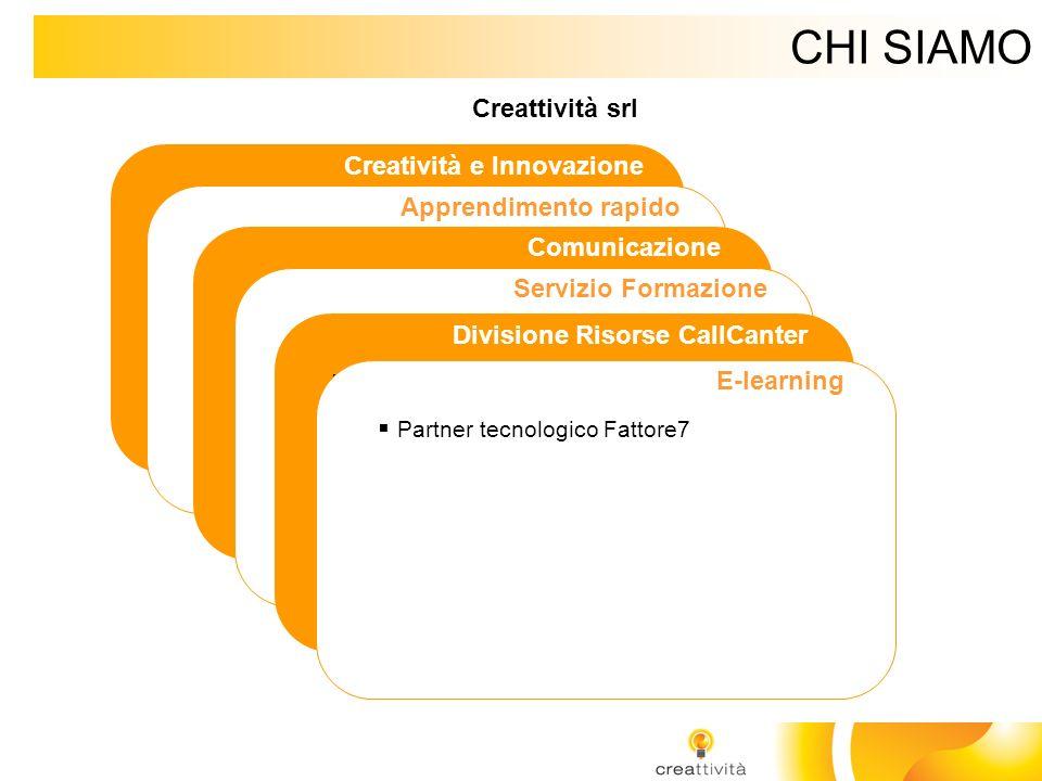 CHI SIAMO Creatività e Innovazione Rappresentanti Prof. Edward de Bono Distributori de Bono Thinking Systems per Italia e Svizzera italiana Apprendime
