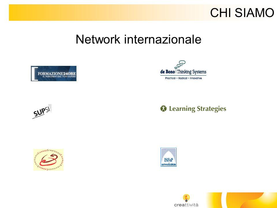 CHI SIAMO Network internazionale