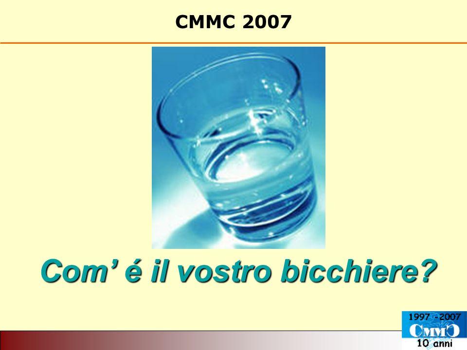 CMMC 2007 Com é il vostro bicchiere?