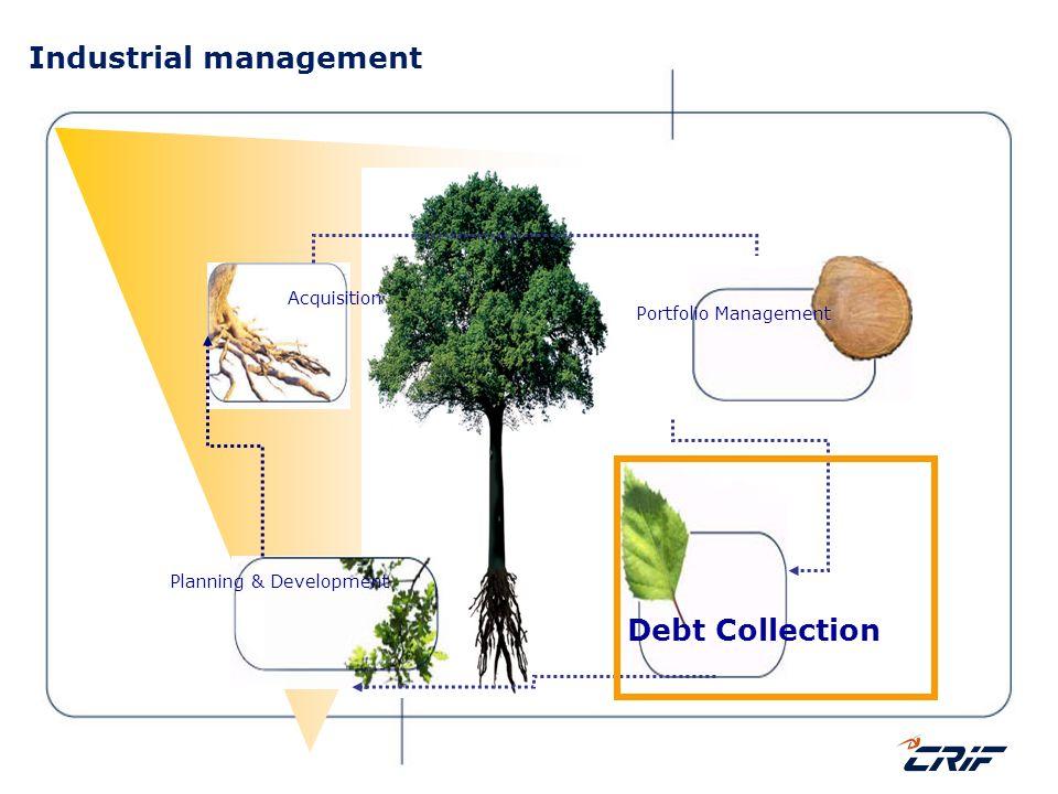 Industrial management Acquisition Portfolio Management Debt Collection Planning & Development