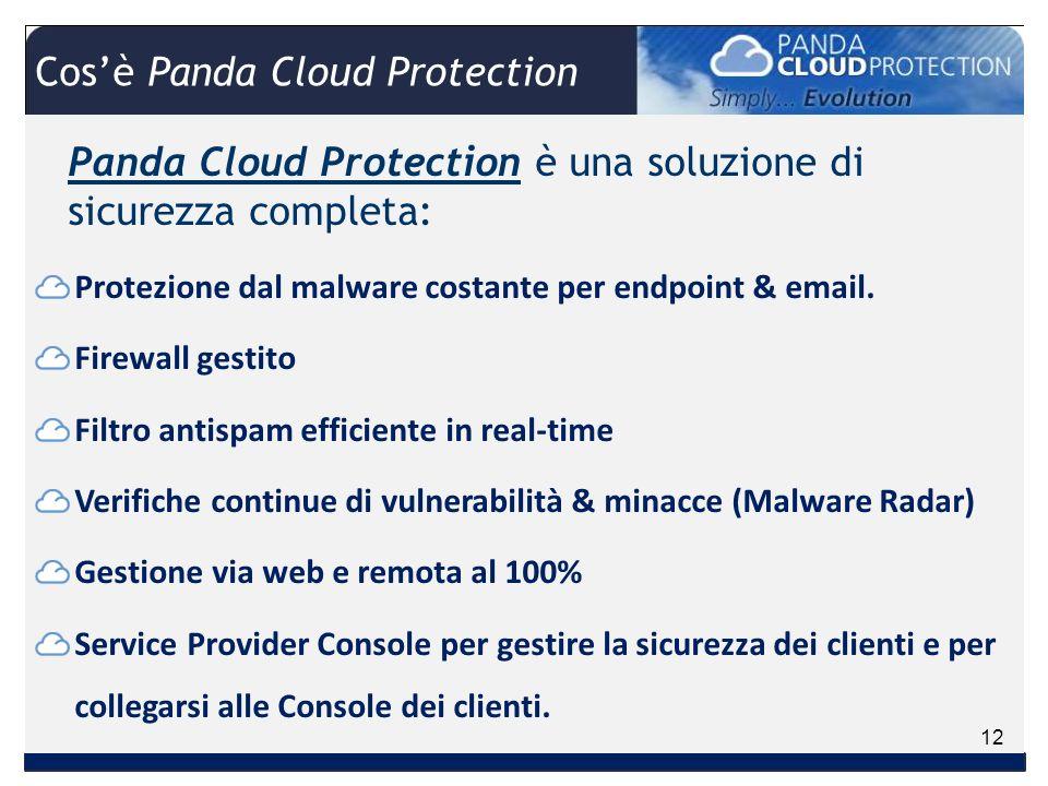 Panda Cloud Protection è una soluzione di sicurezza completa: Protezione dal malware costante per endpoint & email.