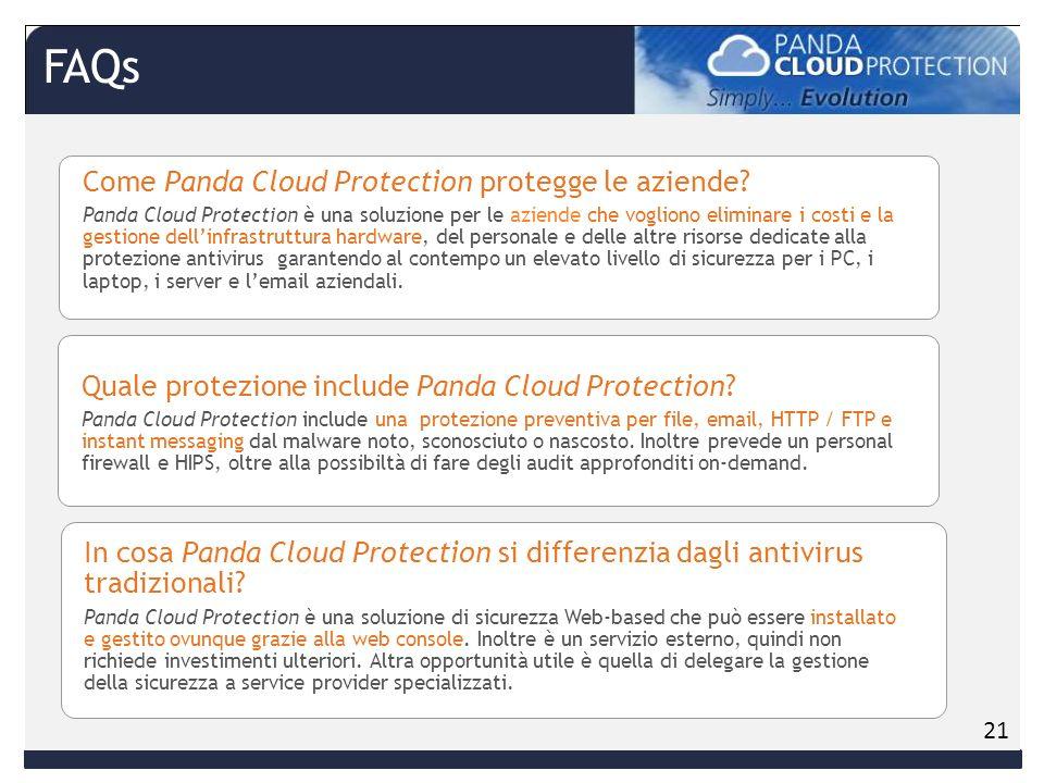 Come Panda Cloud Protection protegge le aziende.