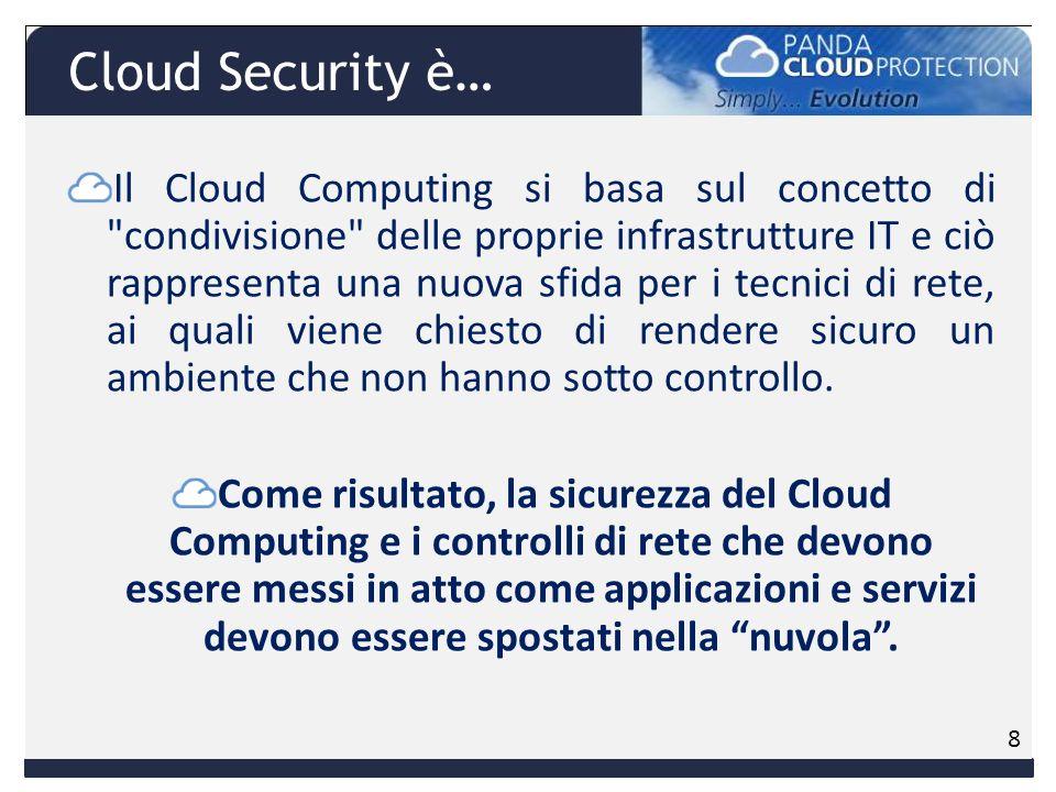 Il Cloud Computing si basa sul concetto di condivisione delle proprie infrastrutture IT e ciò rappresenta una nuova sfida per i tecnici di rete, ai quali viene chiesto di rendere sicuro un ambiente che non hanno sotto controllo.