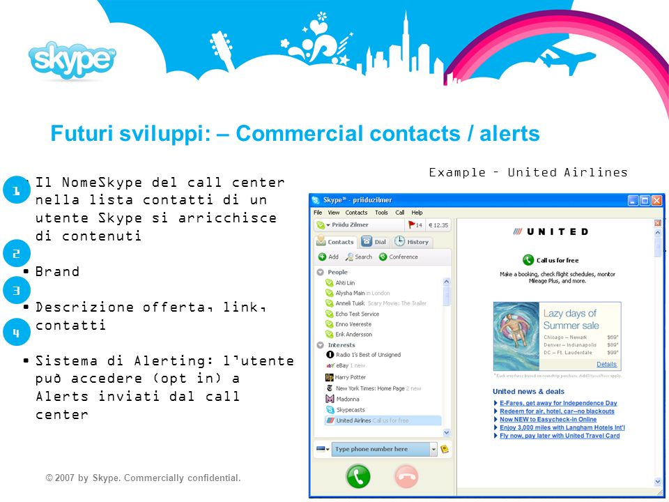 © 2007 by Skype. Commercially confidential.