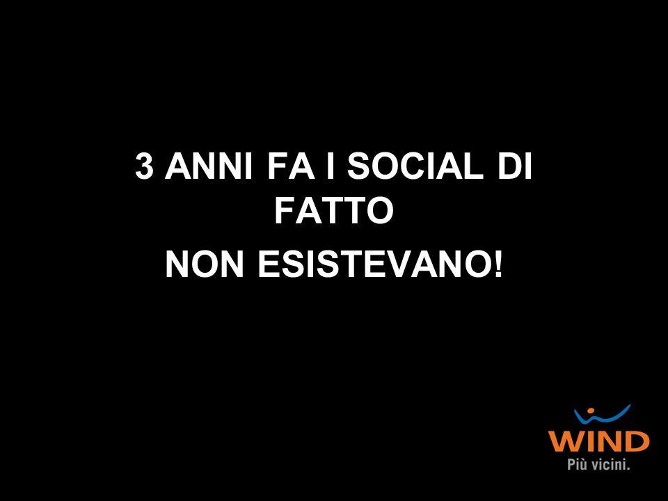 3 ANNI FA I SOCIAL DI FATTO NON ESISTEVANO!