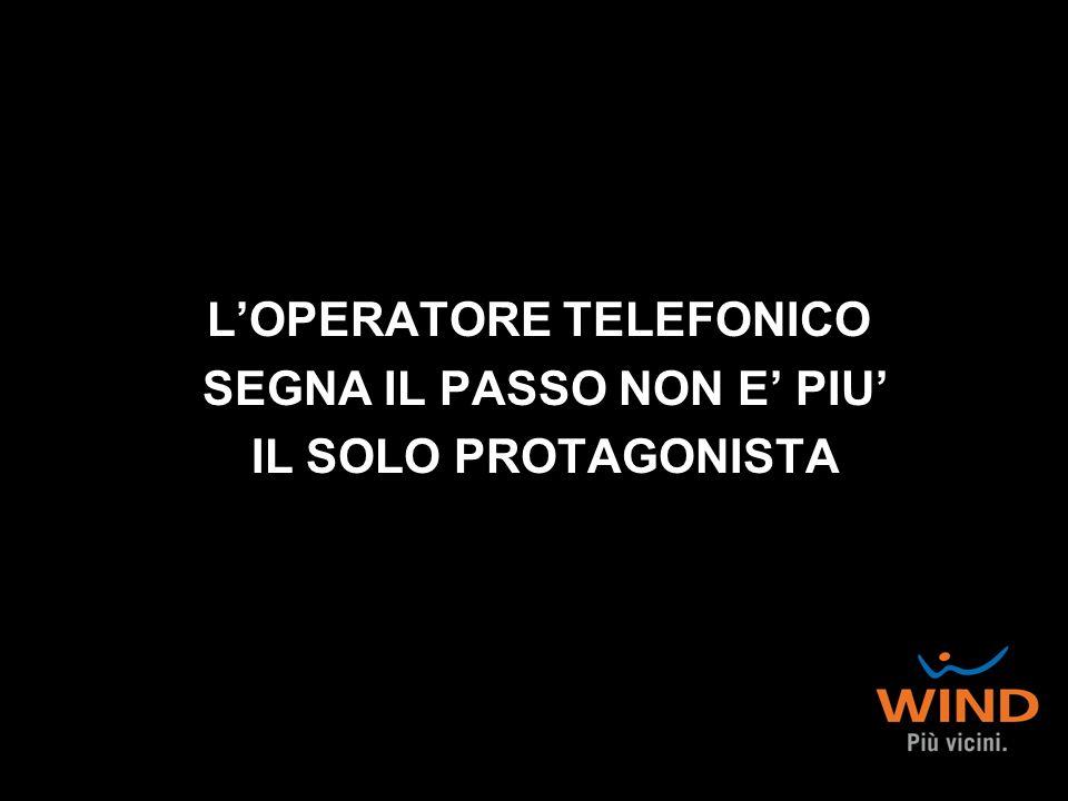 LOPERATORE TELEFONICO SEGNA IL PASSO NON E PIU IL SOLO PROTAGONISTA