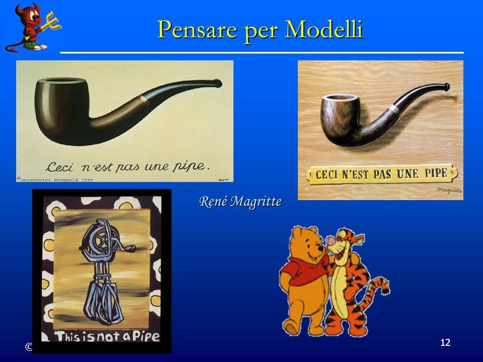 © Dario Bressanini 12 Pensare per Modelli René Magritte