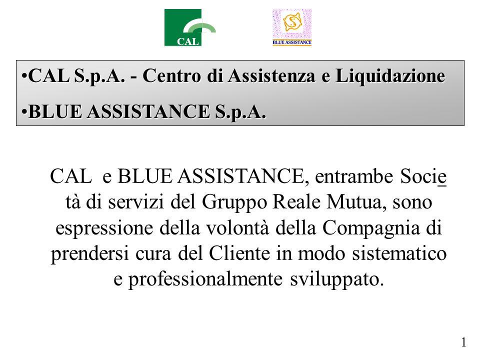 CAL CAL S.p.A. - Centro di Assistenza e LiquidazioneCAL S.p.A.