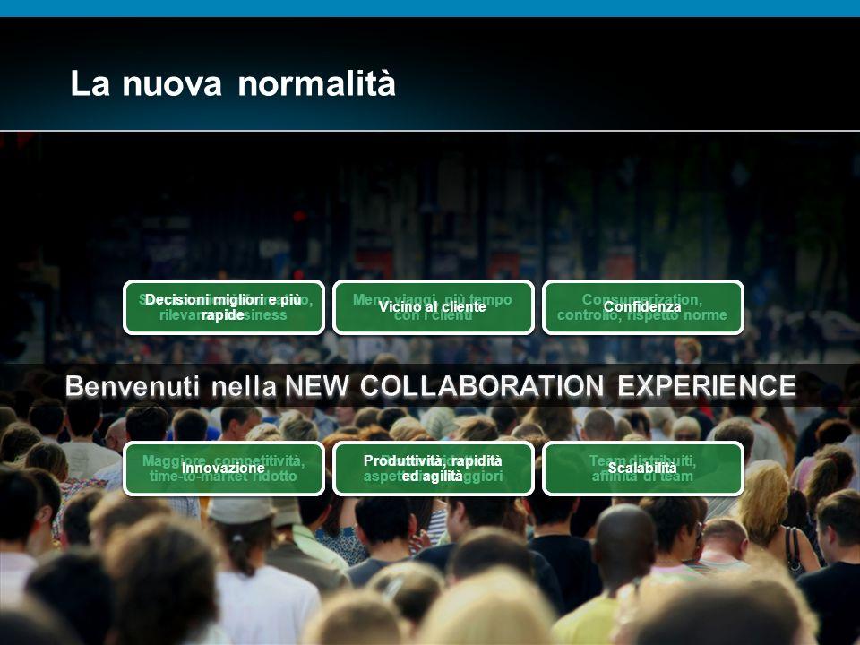© 2009 Cisco Systems, Inc. All rights reserved.Cisco ConfidentialPresentation_ID 13 La nuova normalità Sovraccarico informativo, rilevanza business So