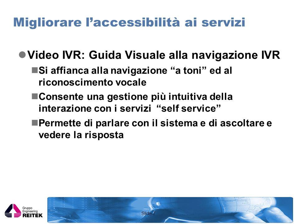 Slide 8 Dove è il problema Ancora troppo spazio alle implementazioni proprietarie dei diversi Carrier.