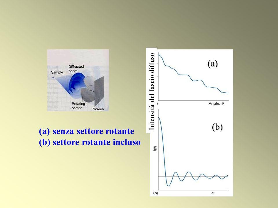 DIFFRAZIONE DI ELETTRONI da parte di molecole in fase gassosa
